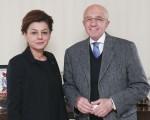Tarım ve Gıda Yazarları Derneği Başkanı İsmail Uğural TGDF'yi ziyaret etti.