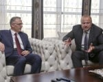 TGDF, Maliye Bakanı Naci Ağbal'ı ziyaret etti
