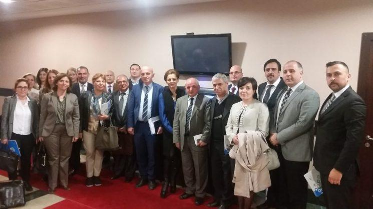 TGDF Üye Dernekler ve Gıda Kontrol Genel Müdürlüğü Değerlendirme toplantısı