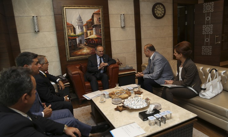 TGDF'den Bilim, Sanayi ve Teknoloji Bakanı Faruk Özlü'ye ziyaret