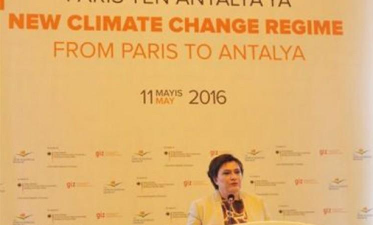 Paris'ten Antalya'ya Uluslararası Yeni İklim Değişikliği Rejimi Paneli