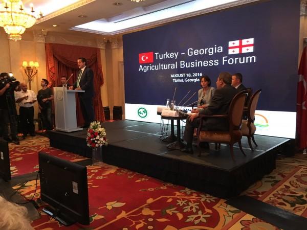 TGDF Genel Sekreteri İlknur Menlik Gürcistan'daydı
