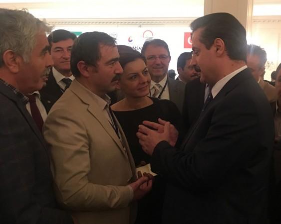 TGDF, Türk İran Tarımsal İş Forumu toplantısına katıldı