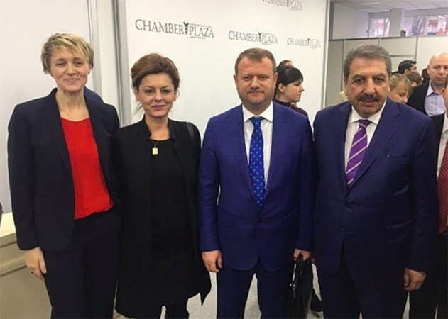 TGDF, Türkiye – Ukrayna Tarım İş Forumuna katıldı