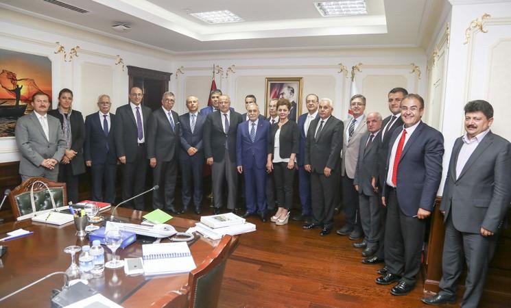 TGDF, Bakan Fakıbaba'yı ziyaret etti