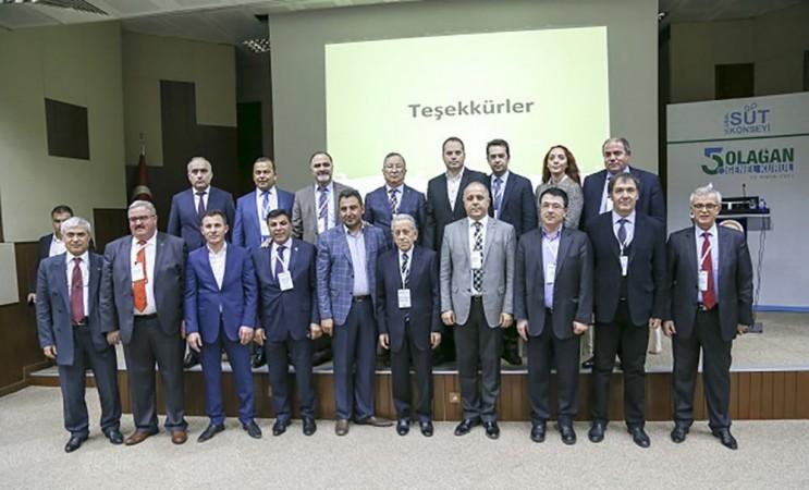 Ulusal Süt Konseyi 5.Genel Kurulu yapıldı