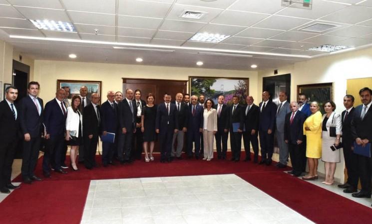 TGDF, Tarım ve Orman Bakanı Bekir Pakdemirli'yi ziyaret etti