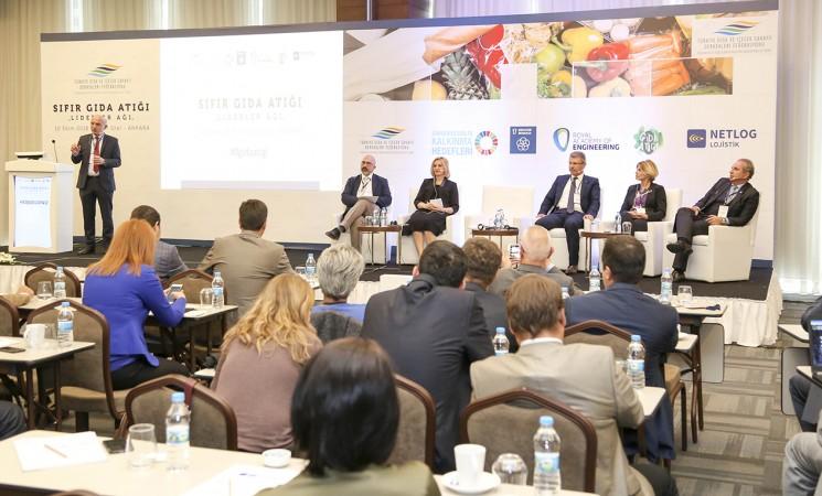 TGDF Sıfır Gıda Atığı Liderler Ağı Zirvesi Ankara'da yapıldı