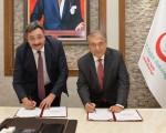 """TGDF Sağlık Bakanlığı """"Tuz Azaltma Protokolü"""" imzalandı"""