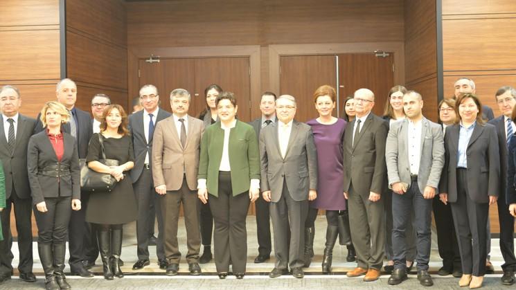 Tuz Azaltma Rehberi Tanıtım Toplantısı Ankara'da yapıldı