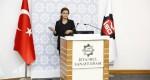 TGDF Genel Sekreteri İlknur Menlik İstanbul Sanayi Odası'nda sunum yaptı
