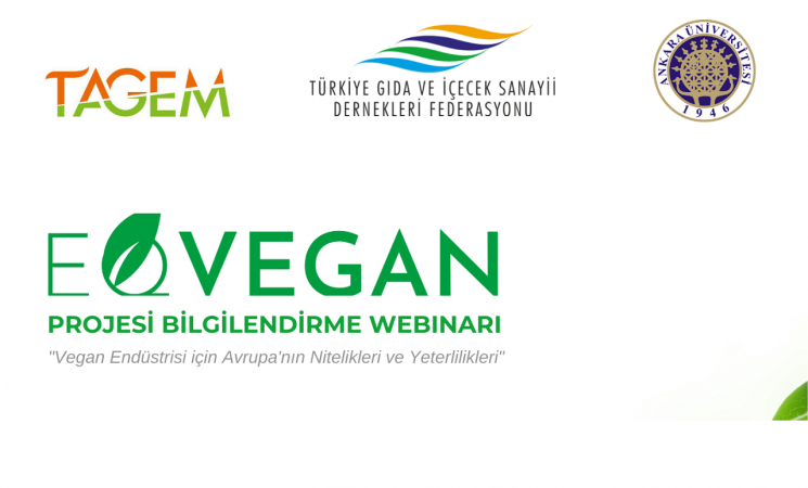 EQVEGAN Projesi Bilgilendirme Webinar'ı gerçekleştirildi