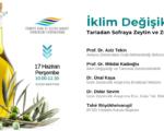TGDF, uzmanları ve sektörü bir araya getirdi, İklim Değişikliği ve Zeytini konuştu!
